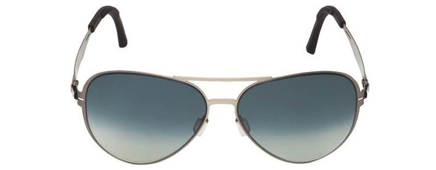 ... солнцезащитные очки с градиентными линзами серого цвета (без  дополнительного покрытия) в стальной оправе  подходят как для мужчин db3e65a425273